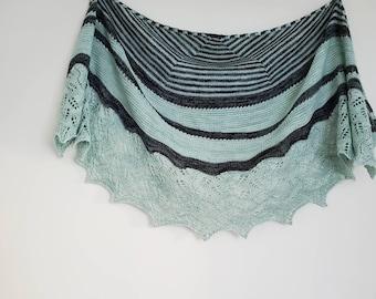 Zania Shawl - Knitting Pattern