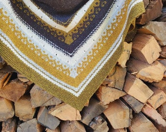 Ramblewood Shawl - Knitting Pattern
