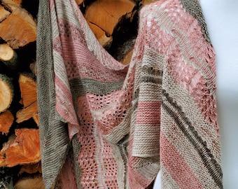 Ashbrook Shawl - Knitting Pattern PDF