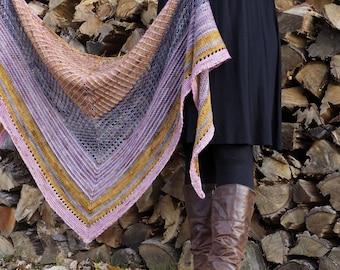 Amani Shawl - Knitting PDF