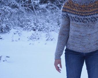 Wood Lane Pullover - Knitting PDF