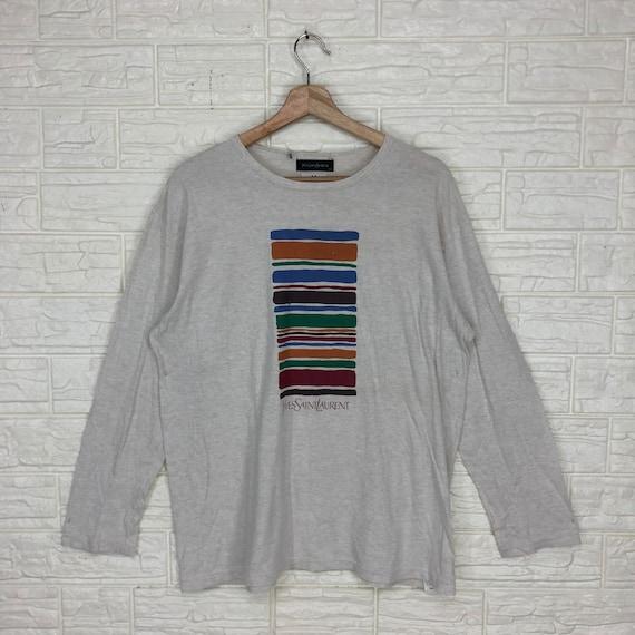 Vintage YvesSaintLaurent YSL Longsleeve T Shirt M