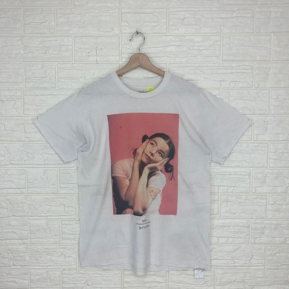 Vintage 00s Bjork x Journal Standard Band T-shirt