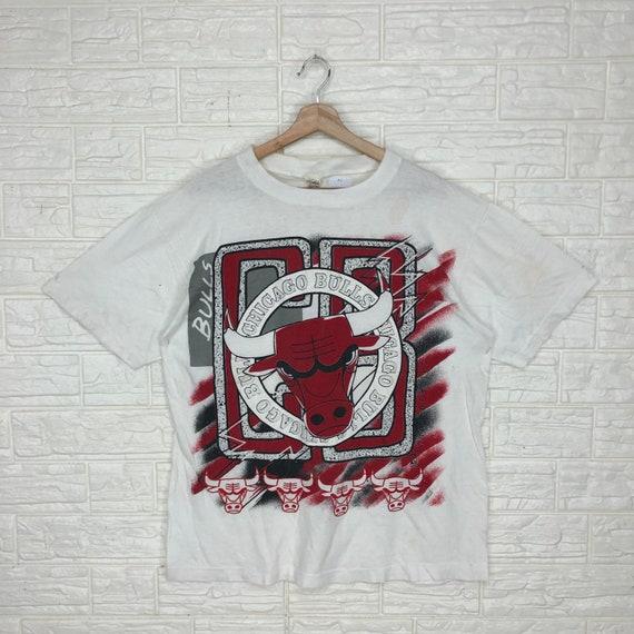 Vintage Chicago Bulls T-shirt XL Size