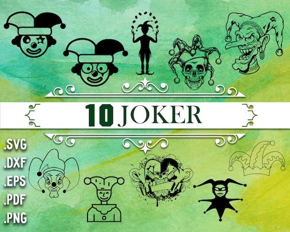 Joker Svg Joker Suicide Squad Svg Harley Quinn Svg Joker Etsy