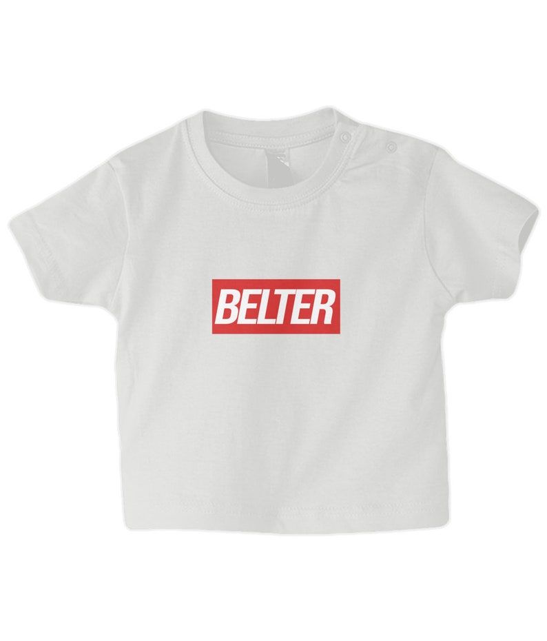Funny Scottish T-Shirt Baby Belter 3-24 Months