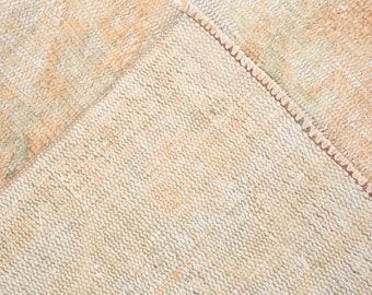 6x9 Turkey Vintage Oushak Rug,6x9 rug,6x9 faded rug,6x9,muted rug,6x9 vintage rug,oushak,vintage,turkish,rug,rugs,unique,carpet,rug,6072