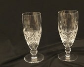 Vintage Colleen Waterford Fluted Champagne (2)
