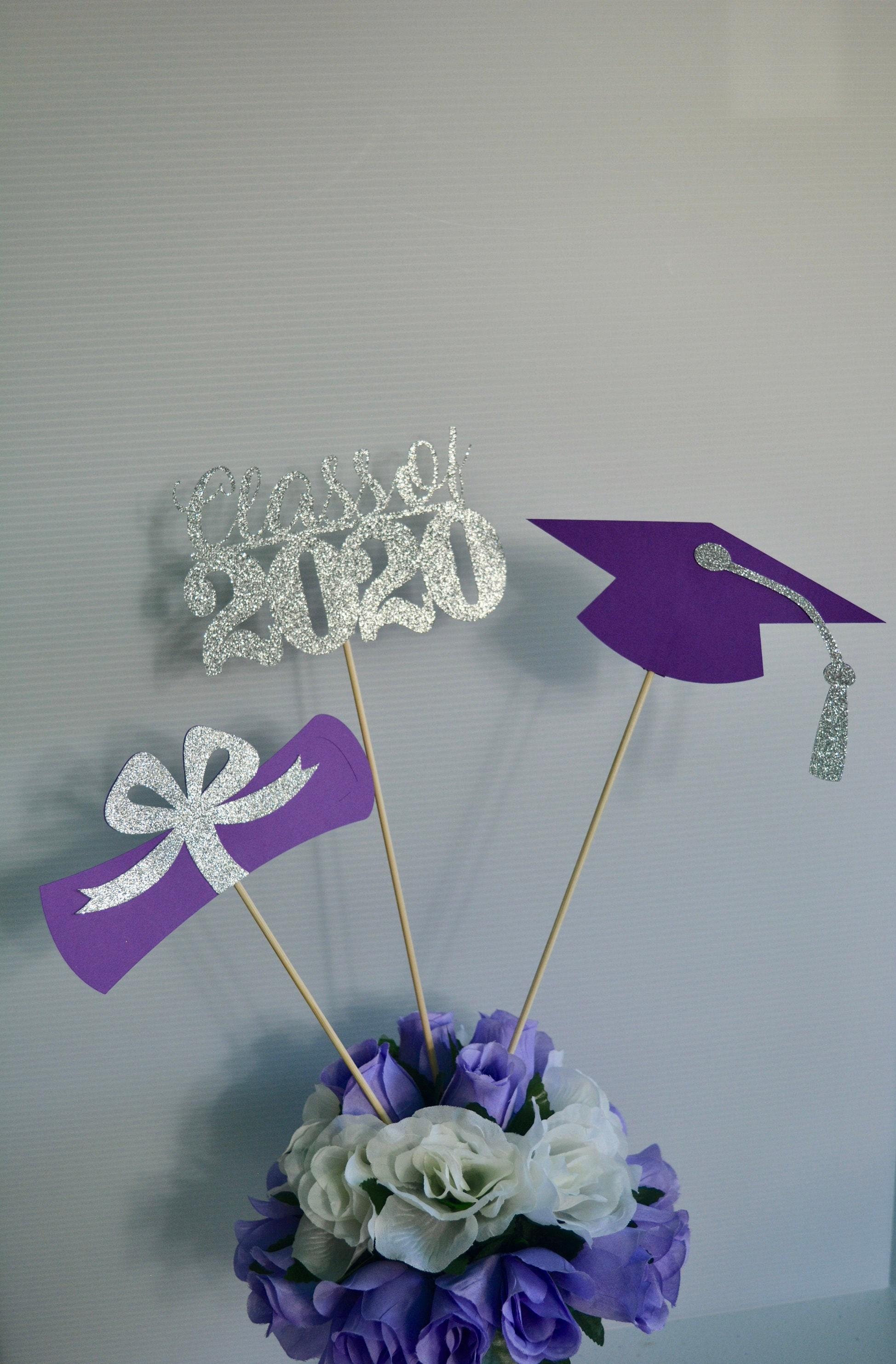 Graduation Centerpieces 2020.Graduation Party Decorations 2020 Graduation Centerpieces