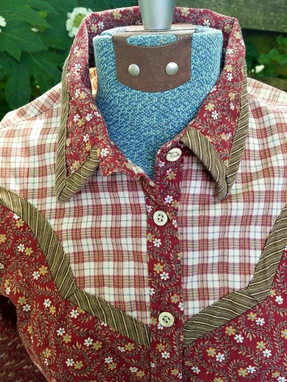 Gunne Sax Prairie Dress - Vintage 1977 - image 5