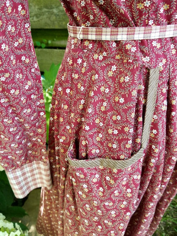 Gunne Sax Prairie Dress - Vintage 1977 - image 6