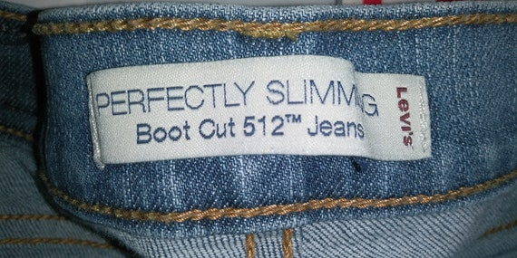 Women's Levis 512 Perfectly Slimming Boot Cut High