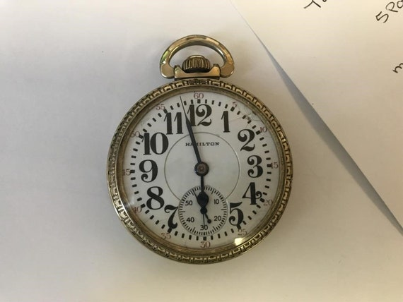 1887 ANTIQUE SETH THOMAS POCKET WATCH Other Items For Sale