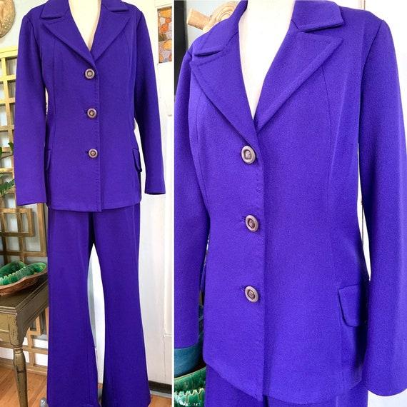 60s Stockton Striped Terrycloth Blouse Medium Vintage Pointed Collar Button Up Shirt