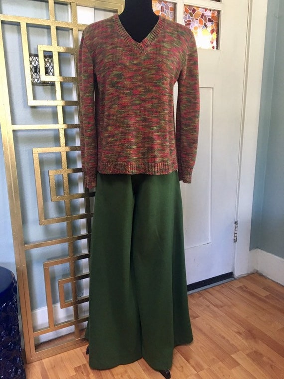 Vintage 70s Super Wide Bell Bottoms