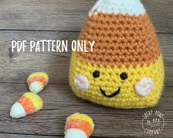 Candy corn magnet pattern