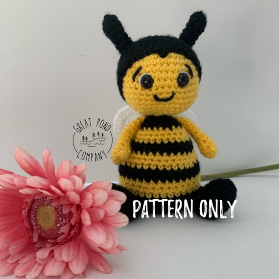 Busy Bee Amigurumi Free Crochet Patterns | 570x570