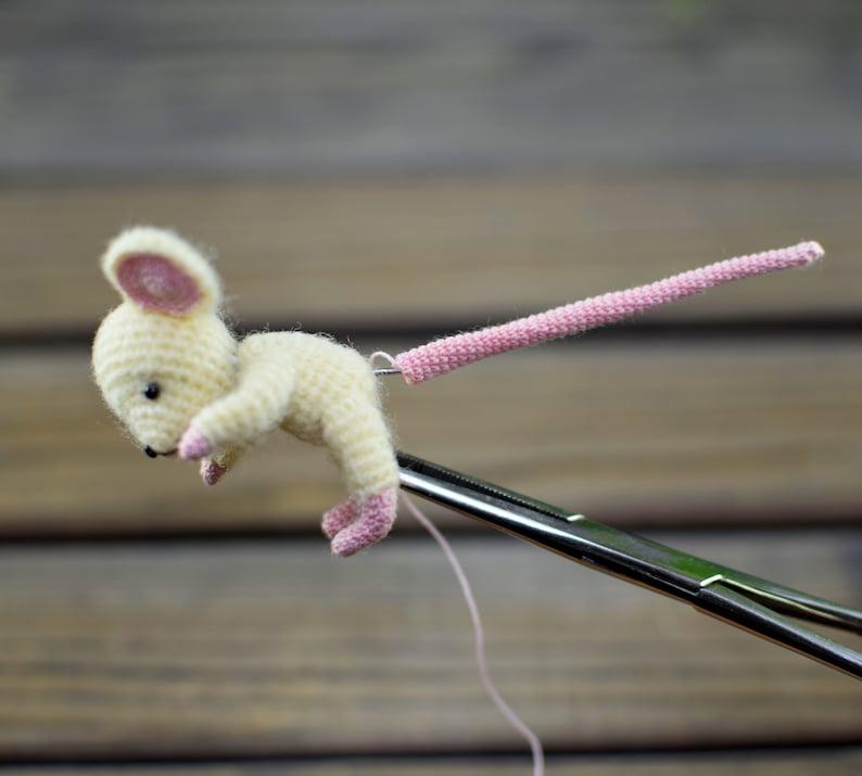 Crochet Pattern of the famous Little Mouse  dress image 10