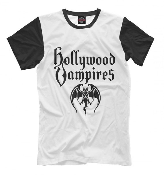 Hollywood Vampires Rock Band T-Shirt, High Quality Tee, Men's Women's Sizes