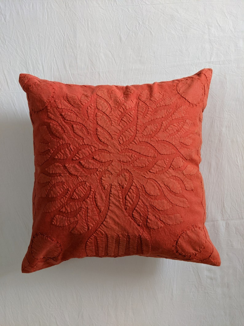 New House Gift Red Tree of Life Tribal Pillow