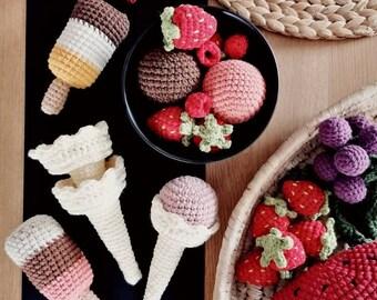 Crochet Food Toys Play Kitchen Kitchen By Helgoweheklowanie