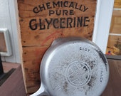Griswold 7 Cast Iron Skillet With Large Block Logo Chrome Finish