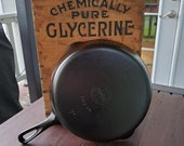 Griswold 8 Cast Iron Skillet With Small Block Logo Restored