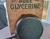 Griswold 6 Cast Iron Skillet With Large Block Logo Restored