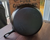 Wagner Ware 10 Cast Iron Skillet Restored