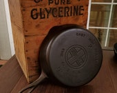 Griswold 7 Cast Iron Skillet With Large Block Logo Restored