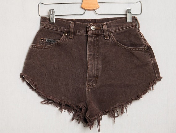 VINTAGE 90's Riveted Lee Cut Off Shorts Cut Off De