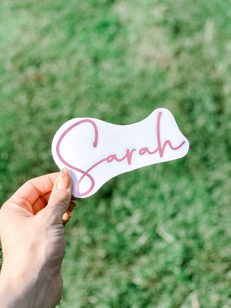 vinyl stickers Personalised Name Decal Name Stickers personalised stickers vinyl Decal Vinyl name name labels stickers