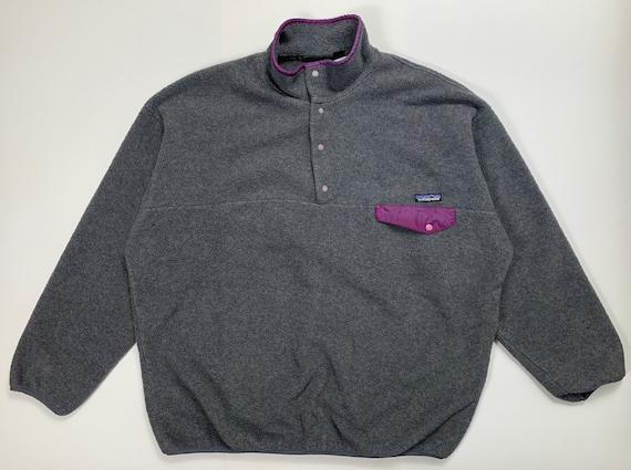 Patagonia Synchilla Fleece Vintage Size XXL Gray P