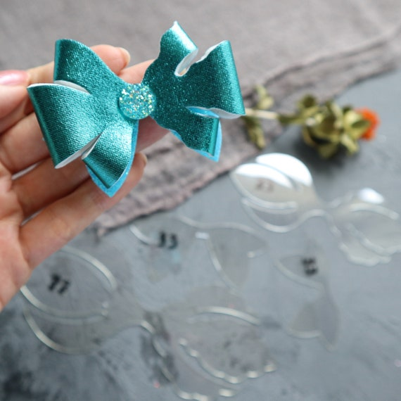 Bow making Plastic Templates N-63 set of 4 pcs
