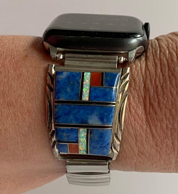 Beautiful Hallmarked Zuni Apple Watch Band