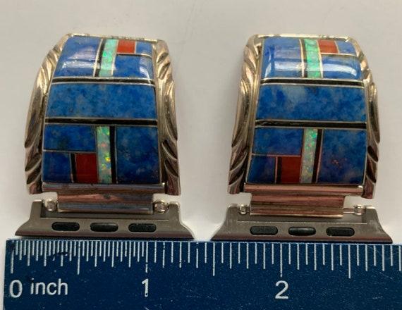 Beautiful Hallmarked Zuni Apple Watch Band - image 3