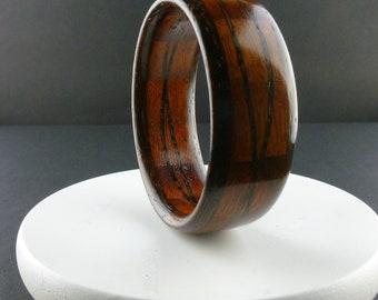 Segmented Wooden Bangle Size 9