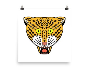 Electric Tiger Poster