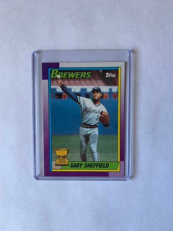 Gary Sheffield Topps All Star Rookie Card 1990
