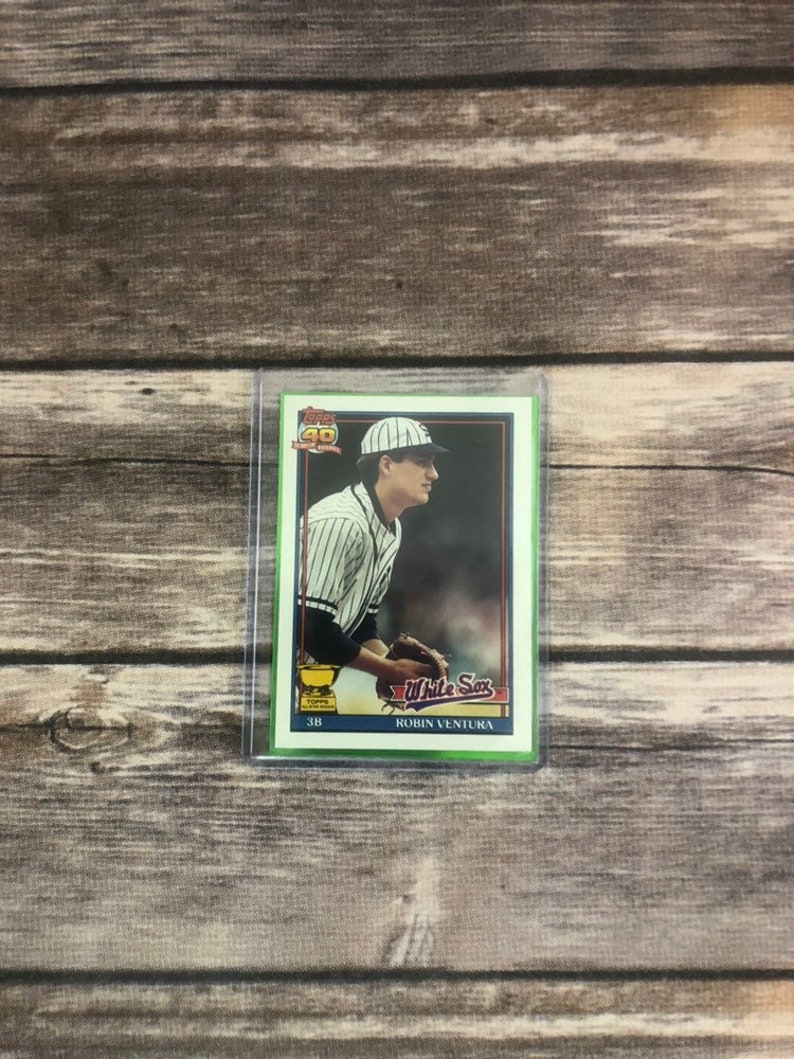 1991 Robin Ventura Topps All Star Rookie Chicago White Sox Rookie Card 461
