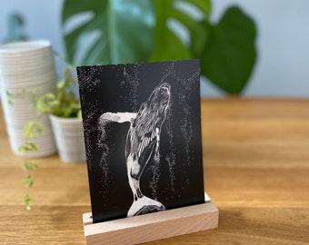 Postcard Wale
