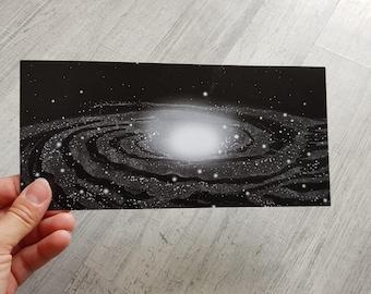 Postcard Milky Way