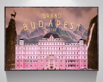 "Classic The Grand Budapest Hotel Movie Art Decor Print Poster 18x12 36x24 40x27/"""