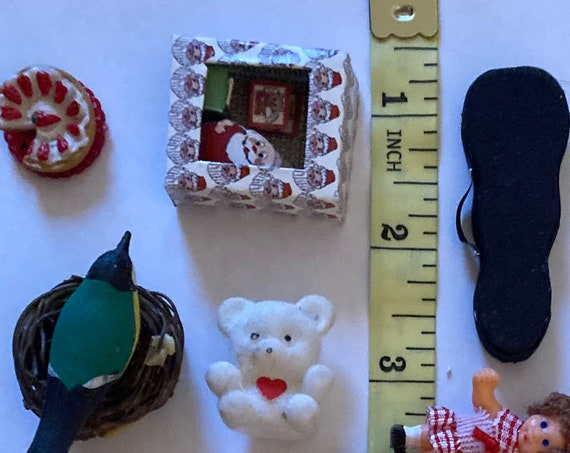 Miniature Crafting Items