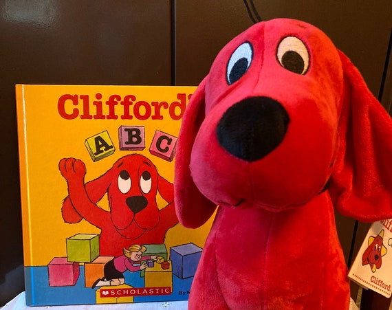 Clifford's ABC Hard Cover Book by Norman Bridwell a Great Scholastic Book and Clifford the Big Red Dog Character by Kohl's Kids