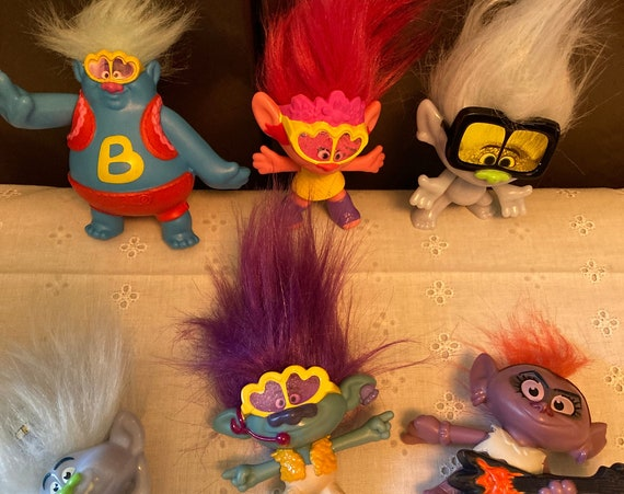 McDonald's Trolls 2020 - Choose Your Dreamworks Troll to Add to Your Collection