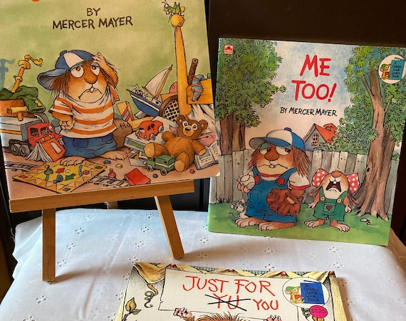 Three Mercer Mayer Golden Look-Look Books - Great Classic Tales with Beautiful Illustrations