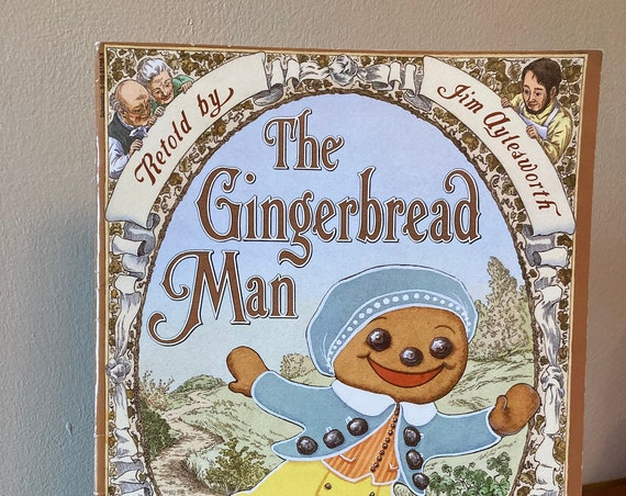 1998 Paperback The Gingerbread Man Retold by Jim Aytesworth