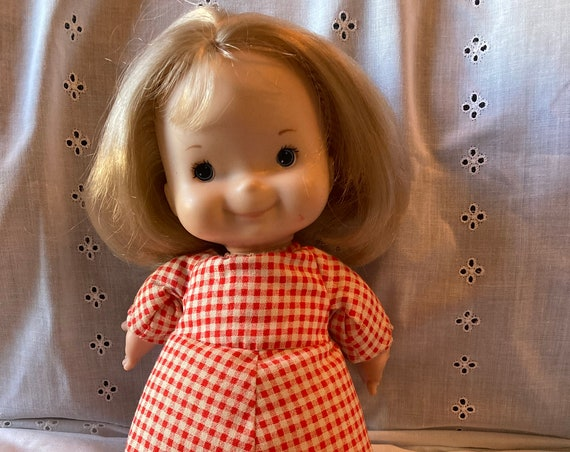 Vintage 1973 Fisher Price Mary Lapsitter Doll 12""