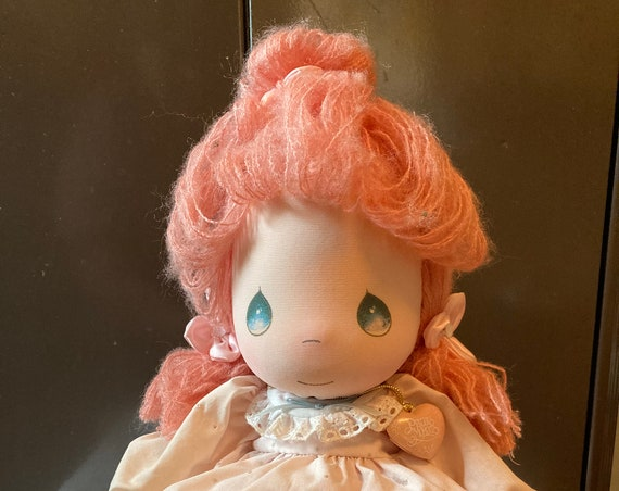 Vintage Precious Moments Applause Last Forever Jeannie Doll - Last Forever Jeannie Precious Moments Applause Doll